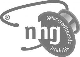 NHG logo grijs